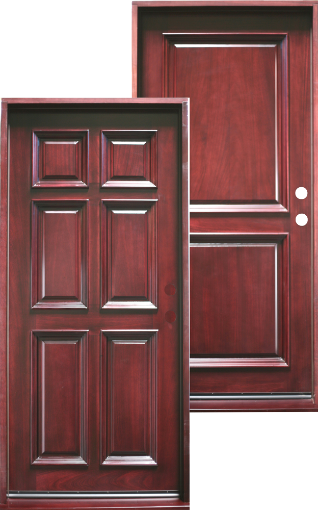 6 panel and 2 panel entry doors in 36u201d x 80u201d prehung prefinished 425