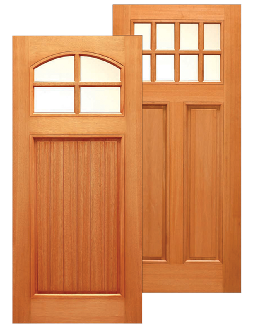 Traditional Craftsman Entry Mahogany Unfinished Slab in 36u201d x 80u201d each $354  sc 1 st  Urban Doors : urban doors - Pezcame.Com