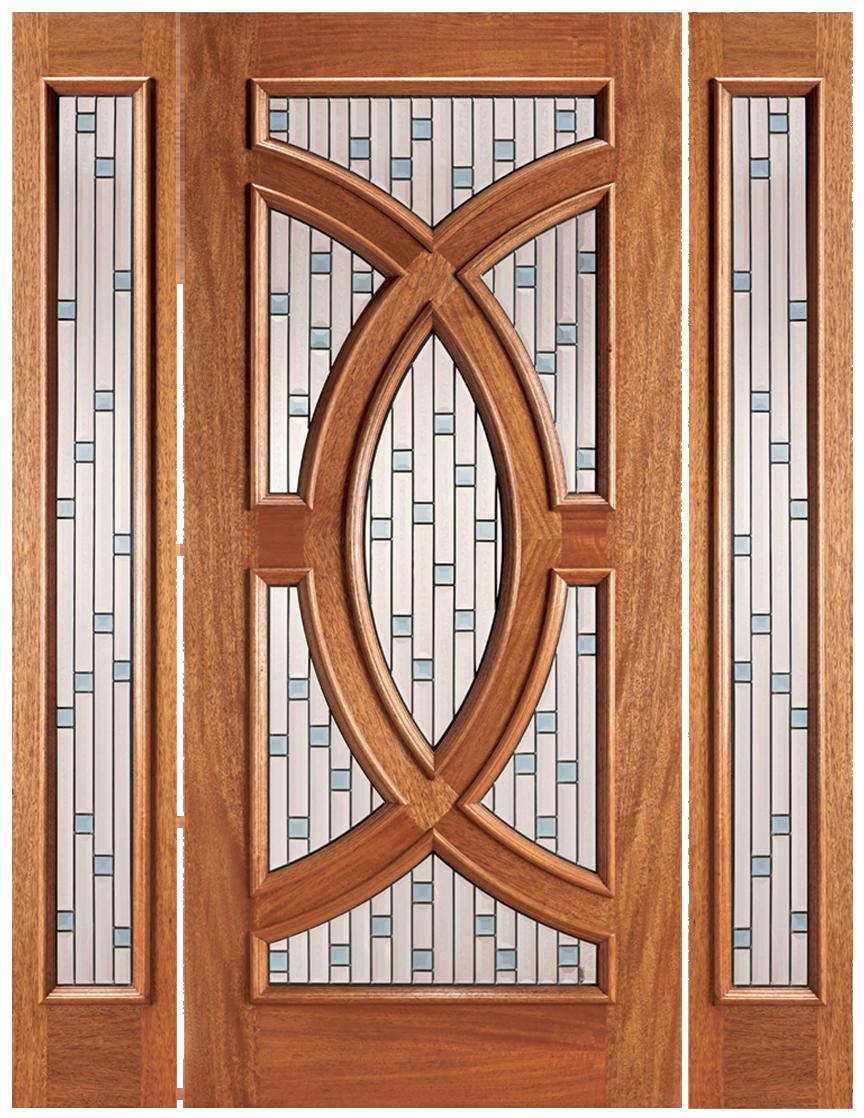 Contractor Doors  sc 1 st  Urban Doors & PL 02 W/ SIDELITES - URBAN DOORS