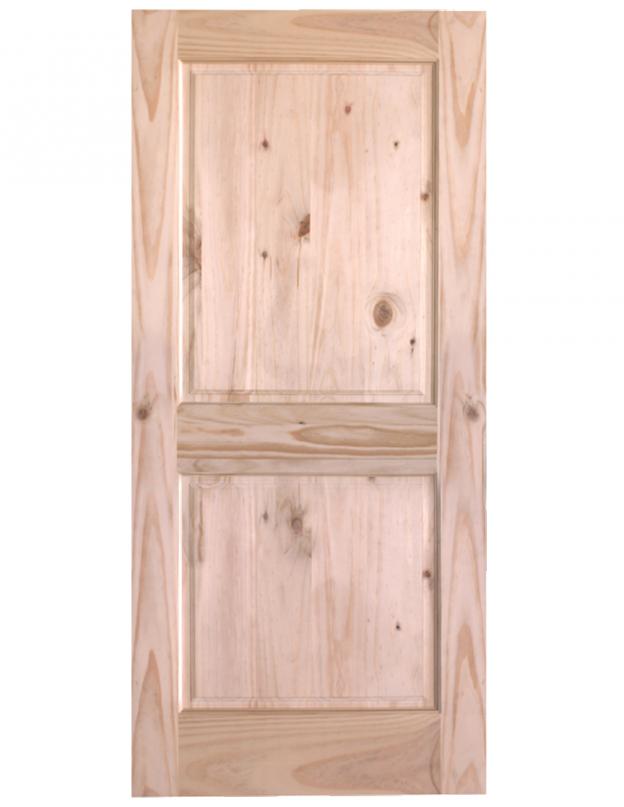 2 Panel Pine