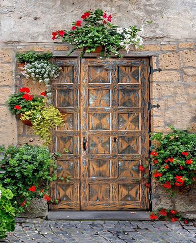 grand entrance doors